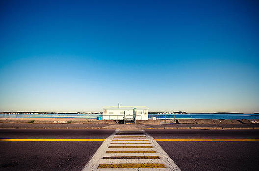 Crosswalk to the Beach by Lee Costa