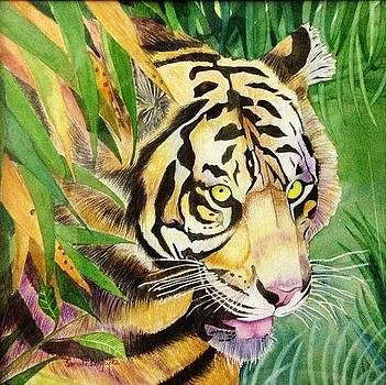 Crouching tiger by Sonali Sengupta