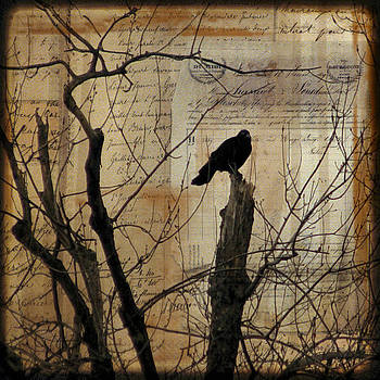 Gothicolors Donna Snyder - Crow Collage