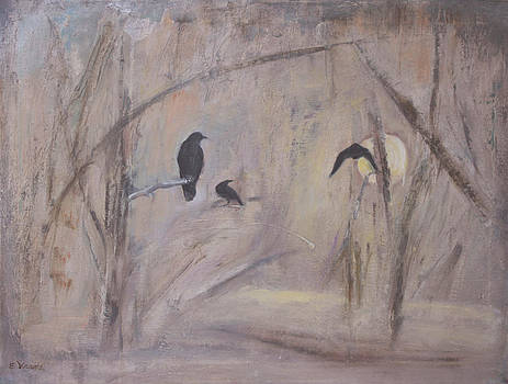 Crow Moon #3 by Ethel Vrana
