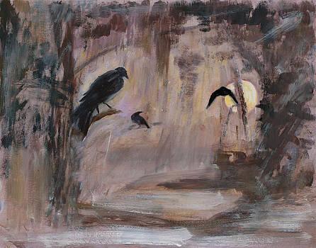 Crow Moon by Ethel Vrana
