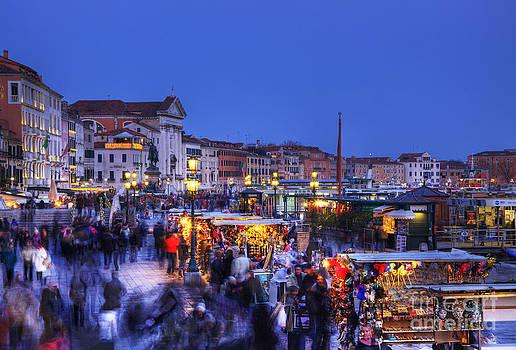 Crowd in Venice by Radu Razvan