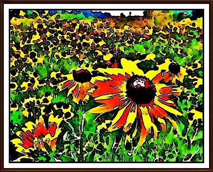 Crowded Field by Alicia Diel