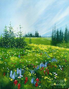 Crowfoot Meadows by Linda Hunt