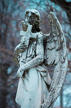 Crown Hill Cemetery Angel by Melissa Wyatt