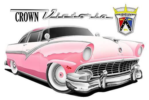 Crown Victoria in Digital by Lyle Brown