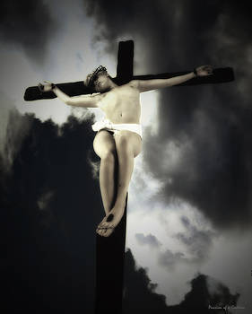 Crucified Christ by Ramon Martinez