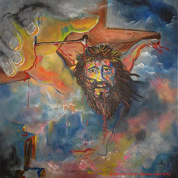 crucified with Christ by Ricardo Colon
