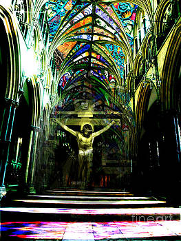 Crucifix Reflexions by Karine Percheron-Daniels