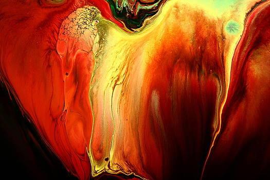 Crying for Love Modern Abstract Art by kredart by Serg Wiaderny