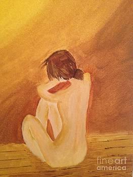 Crying Girl by Tania  Katzouraki