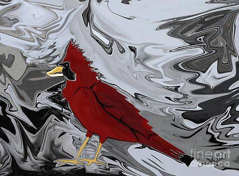 Crystal Cardinal by Sherin  Hylan