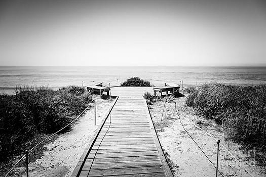 Paul Velgos - Crystal Cove Overlook Black and White Picture