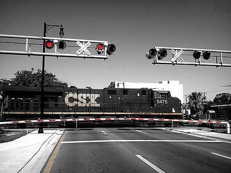 CSX Train by Bruce Kessler