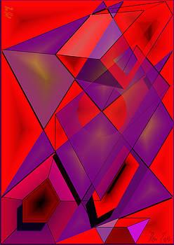 Cubes- 3D by Helmut Rottler