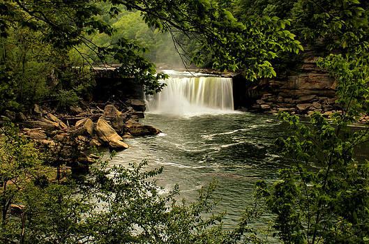 Matthew Winn - Cumberland Falls in Spring