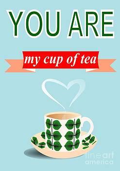 Cup of tea love by Patruschka Hetterschij