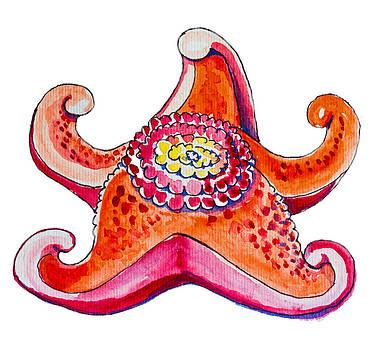 Cupcake Starfish by Kelly     ZumBerge