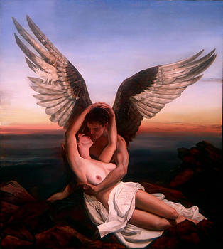 Cupid and Psyche by Eric  Armusik