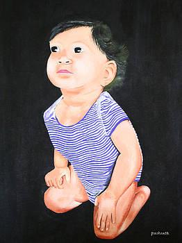 Curious Baby by Prashanth Bala Ramachandra