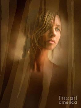 Curtain Girl by Robert Foster