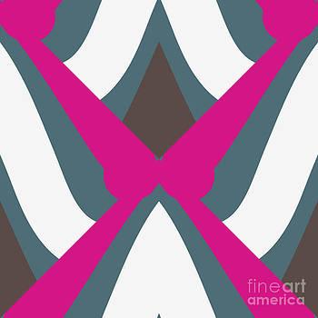 Curvy Lines Mirrored by Savvycreative Designs