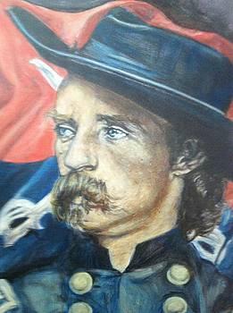 Custer up close by Genevieve Elizabeth