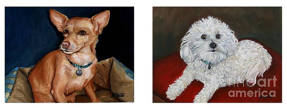 Custom Pet Portraits by Gretchen Matta