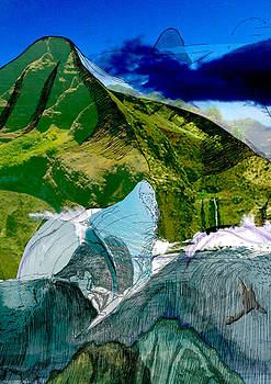 CutBack Mountains by Darren  Graves