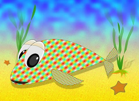 Cute Fish by Ricardo  De Almeida