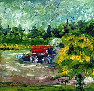 Cutting Hay by Joe Byrd