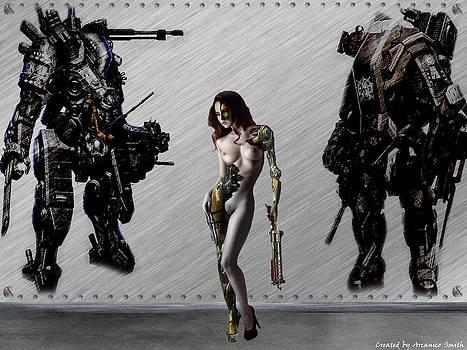 Cyborg Girl by Arcanico Luca Smith Acquaviva