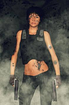 Liam Liberty - Cyborg Mercenary