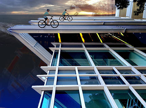 Cycling Architects by Darren  Graves