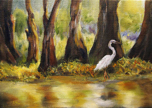 Cypress Marsh by Diane Kraudelt