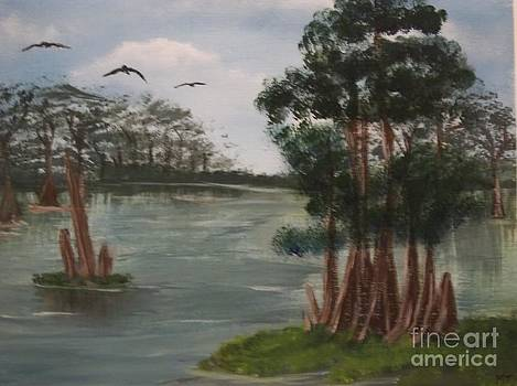 Cypress Swamp by Michelle Treanor