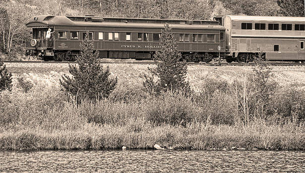 James BO  Insogna - Cyrus K  Holliday Private Rail Car BW Sepia