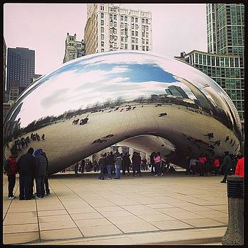 Da Bean #cloudgate #chitown by Coyle Glass
