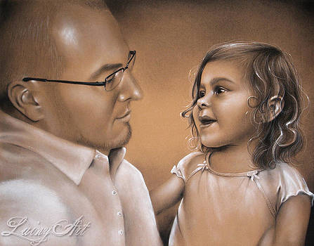 Dad and Daughter by Alaina Ferguson