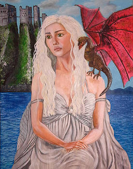 Daenerys Game Of Thrones by Jacqueline Martin