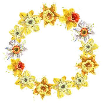 Daffodil Wreath by Alison Fennell