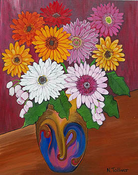 Daisy Drama by Norma Tolliver