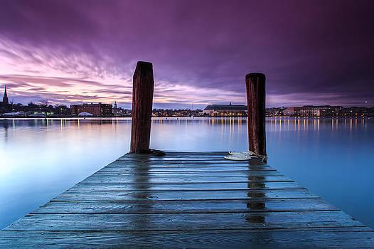 Damp Sunset by Jennifer Casey