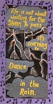 Dance in Rain by Yvonne  Kroupa