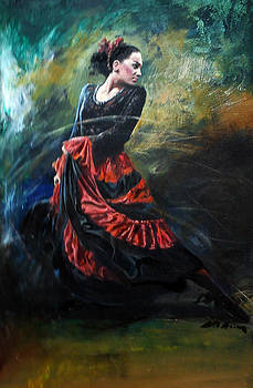 Dancer by Alim Adilov