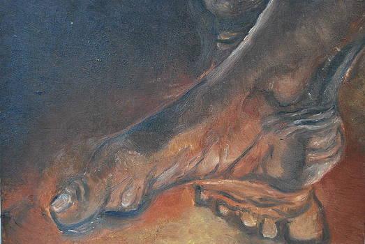 Dancer's Feet by Andrea HJERPE