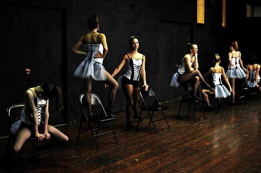 Dancers On Stage by Jon Van Gilder