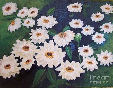 Dancing Dasies by Lucia Grilletto