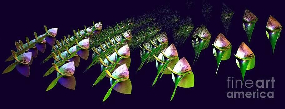 Gail Matthews - Dancing Flower Buds