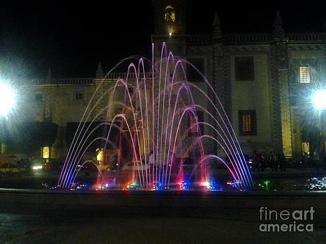 Dancing Fountains 1 by Nyna Niny